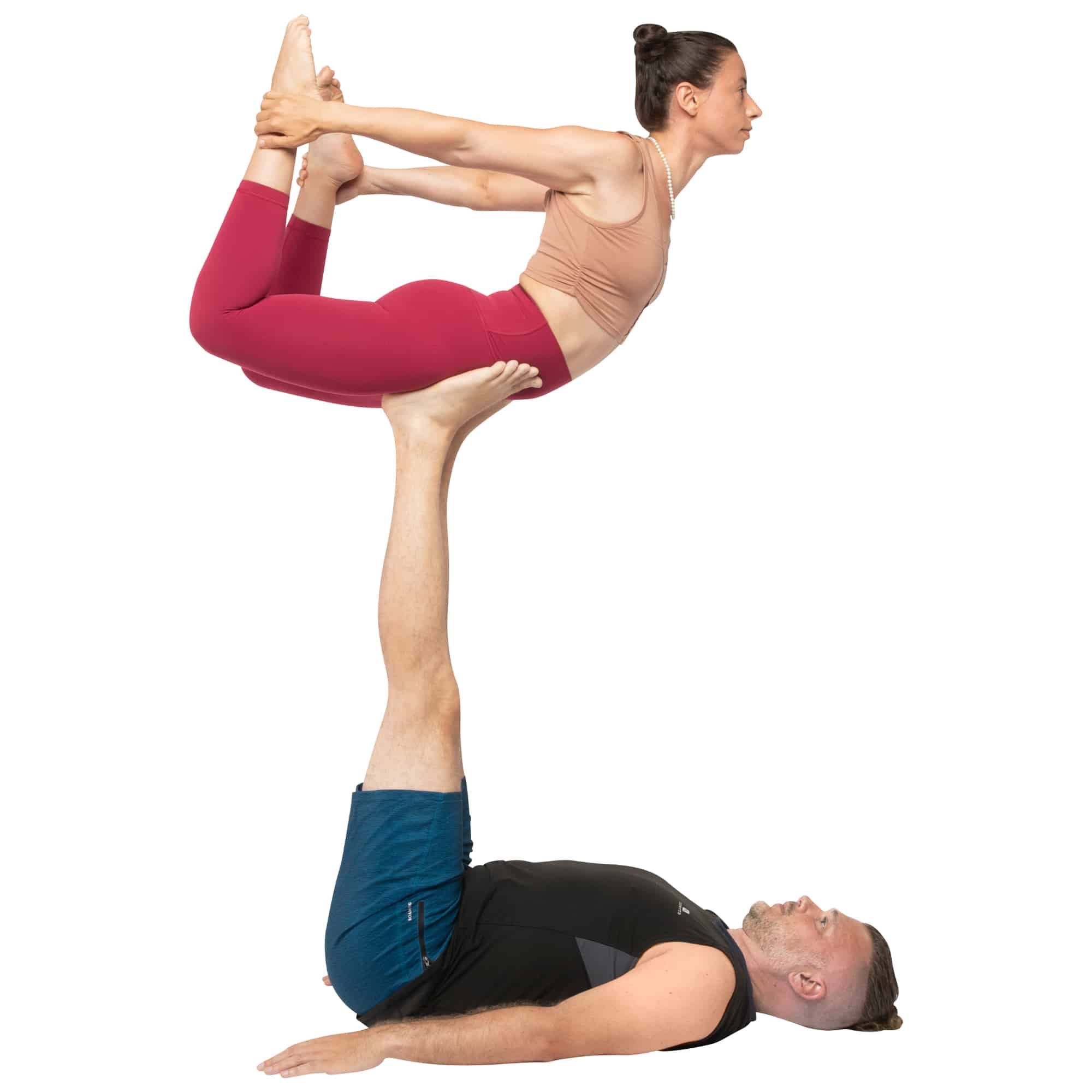 acroyoga haltung pose Bow