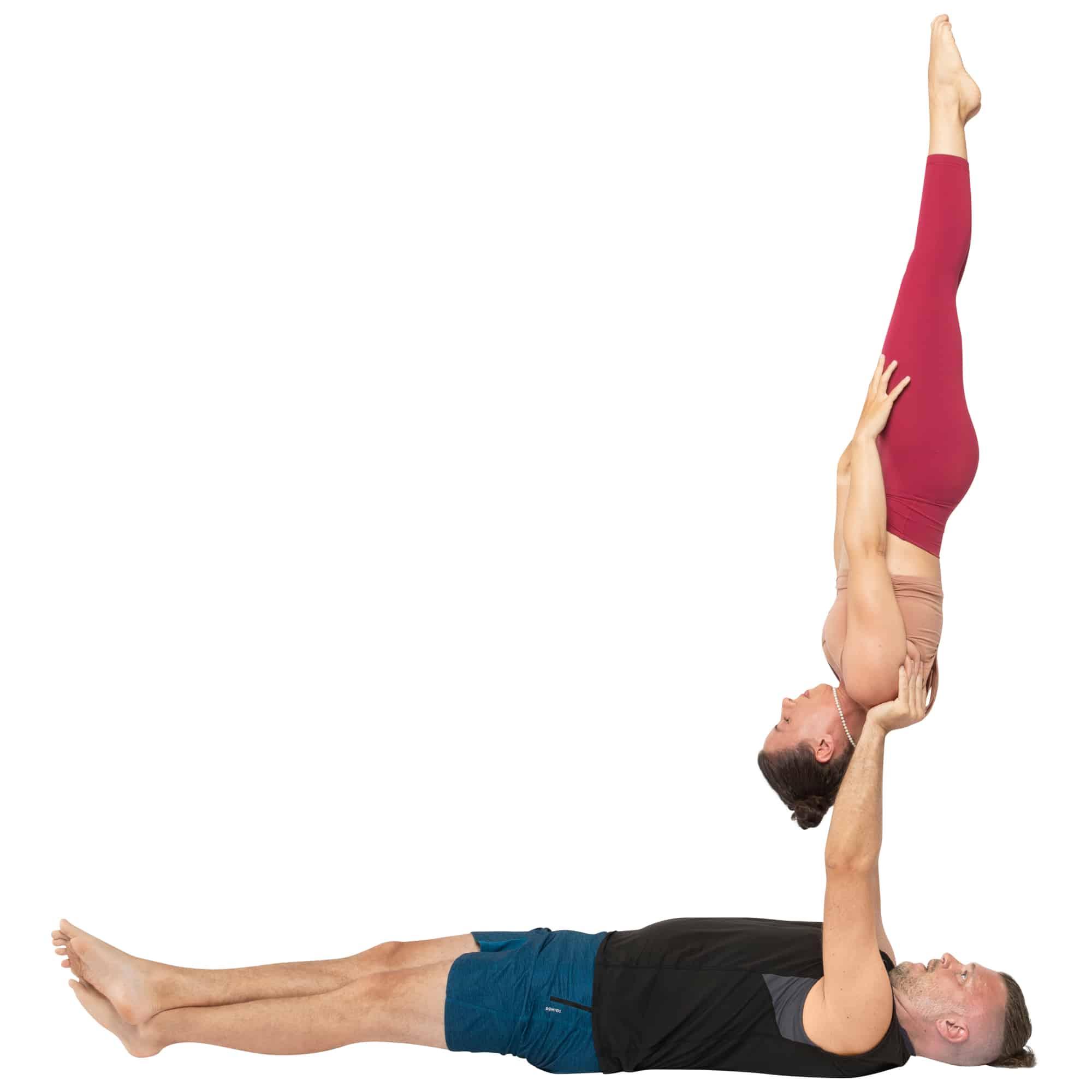 acroyoga haltung pose Needle
