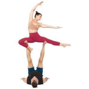 acroyoga haltung pose Ninja Pose